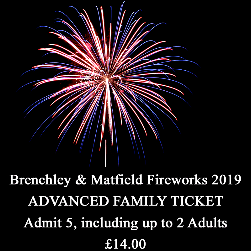 Family Fireworks – Family Ticket -Reduced Price for Advance Purchase