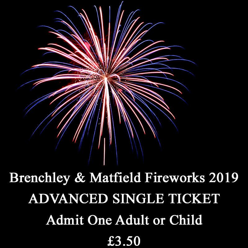 Family Fireworks – Single Ticket – Reduced Price for Advance Purchase